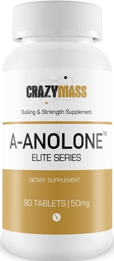 CrazyMass A-Anolone Elite Series for Muscle Hardness