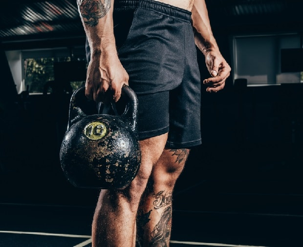 Kettlebell Lifting Male