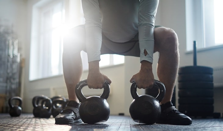 Kettle Bell Weightlifting